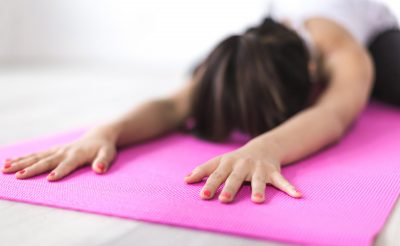 Vinyasa Yoga pose