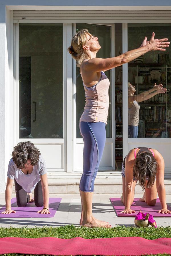 Vinyasa Yoga with Pascale Bernard